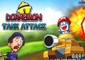 Jogo Doraemon Tank Attack
