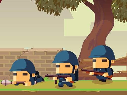 Jogo Army Block Squad