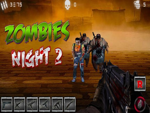 Jogo Zombies Night 2