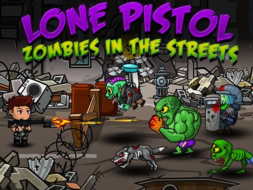 Jogo Lone Pistol : Zombies in the Streets