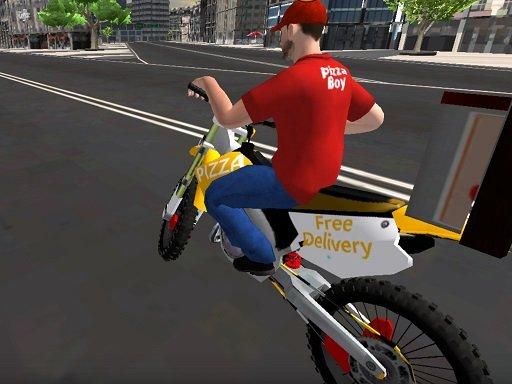 Jogo Motor Bike Pizza Delivery 2020
