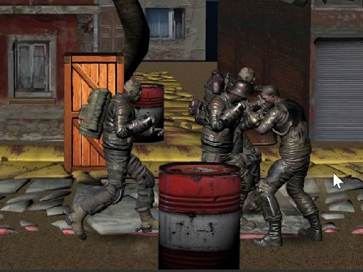 Jogo Realistic Street Fight Apocalypse