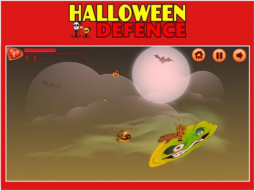 Jogo Halloween Defence 1