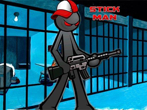 Jogo Stickman Adventure Prison Jail Break Mission