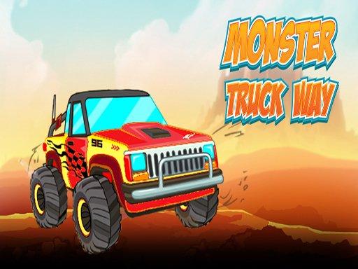 Jogo Monster Truck Way