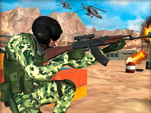 Jogo Frontline Army Commando War