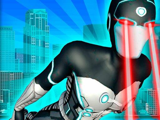 Jogo Flying Superhero Revenge Grand City Captain