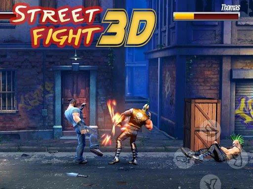 Jogo Street Fight 3D