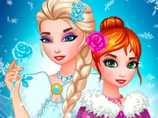 Jogo Frozen Queen Dress Up