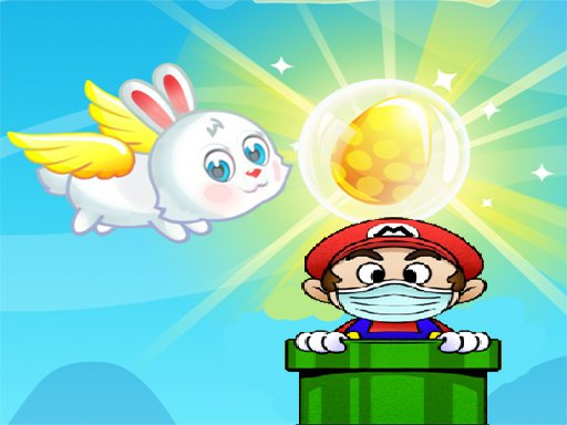 Jogo Flying Easter Bunny 2