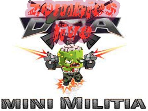 Jogo Zombies Mini Militia Live