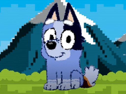 Jogo bluey dog pixal