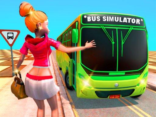 Jogo Passenger Bus Taxi Driving Simulator