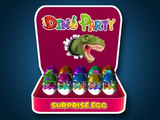 Jogo Surprise Egg: Dino Party