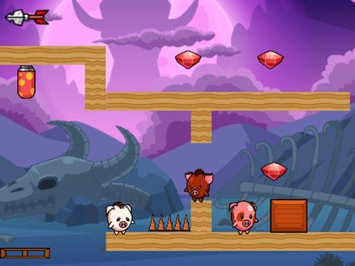 Jogo Pig Bros Adventure