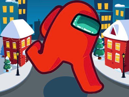 Jogo Among Us Christmas Run