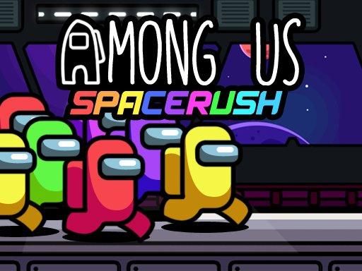 Jogo Among Us Space Rush