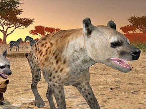 Jogo Hyena Simulator 3D