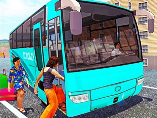 Jogo Off Road bus Transport Driver: Tourist Coach Sim