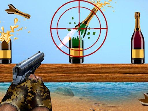 Jogo Sniper Bottle Shooting Expert