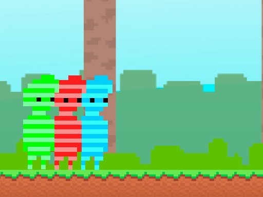 Jogo Red And Green : Candy Forest