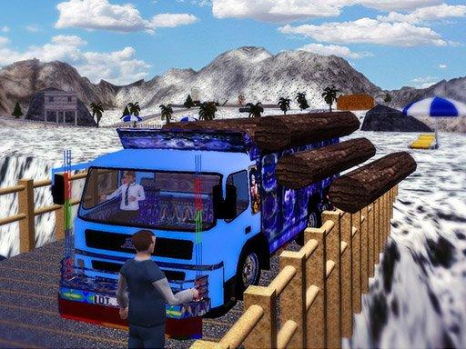 Jogo Cargo Truck Transport Simulator  2020