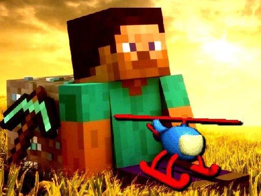Jogo Minecraft Helicopter Adventure