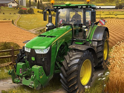 Jogo Real Tractor Farming Simulator
