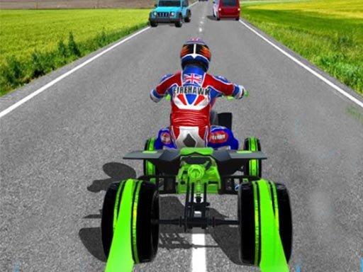 Jogo ATV Quad Bike Traffic Rider