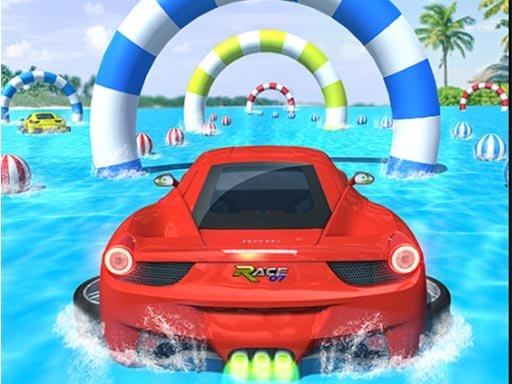Jogo Water Surfing Car Stunts