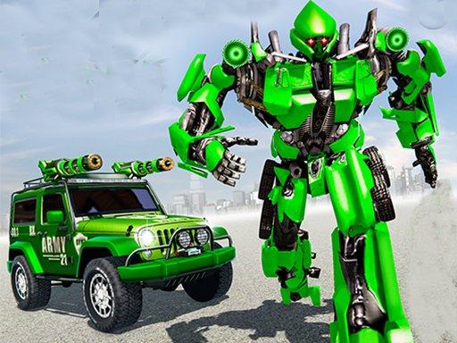 Jogo US Police Car Real Robot Transform