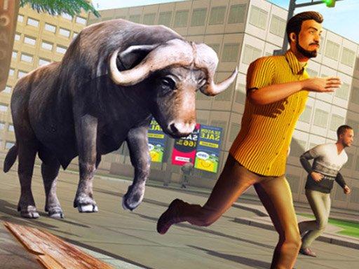 Jogo Angry Bull Attack Wild Hunt Simulator