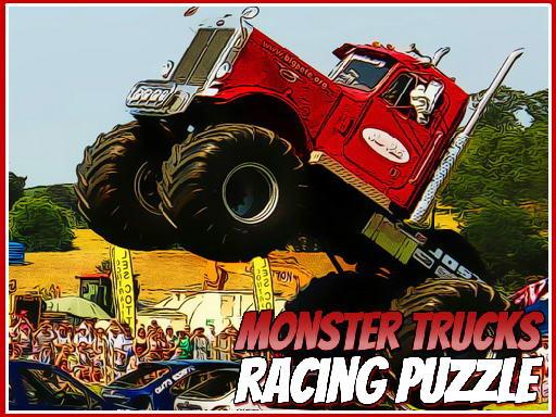 Jogo Monster Trucks Racing Puzzle