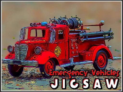 Jogo Emergency Vehicles Jigsaw