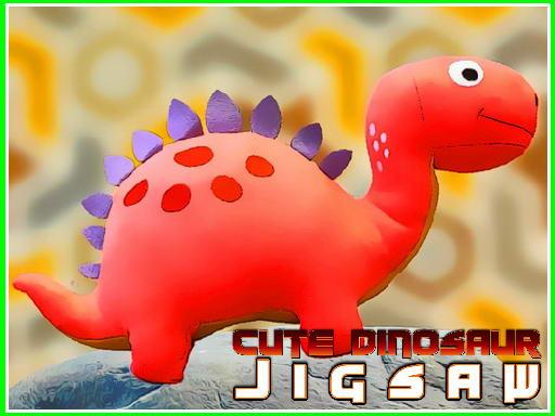 Jogo Cute Dinosaur Jigsaw