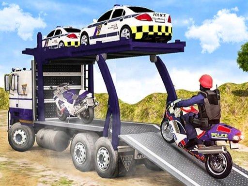 Jogo Offroad Police Cargo Transport