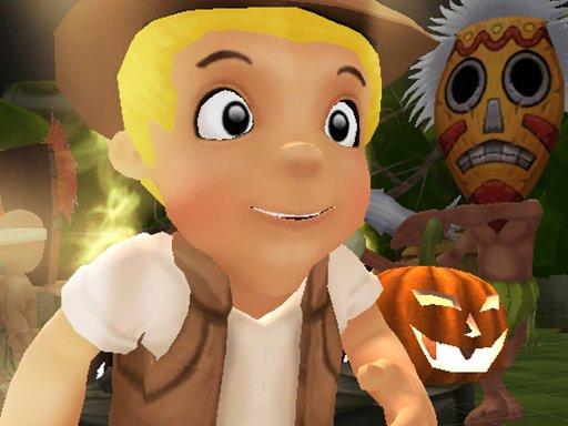 Jogo Halloween Island Running