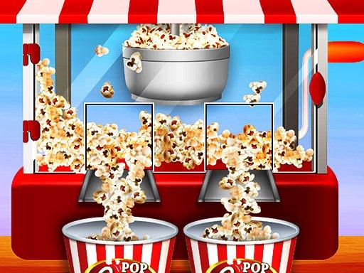 Jogo Caramel Popcorn Maker Factory : Crunchy Pop Corn