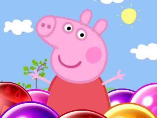 Jogo Peppa Pig Bubble