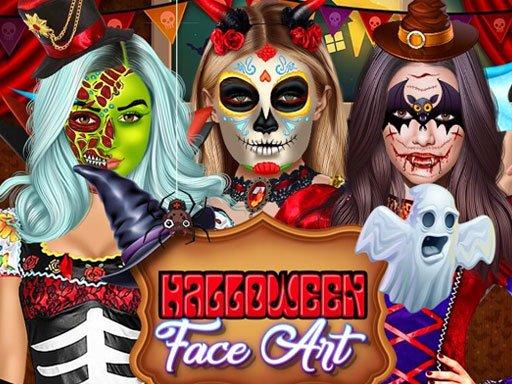 Jogo Halloween Face Art
