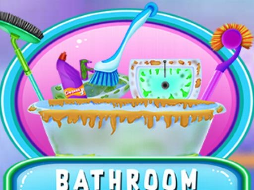 Jogo Bathroom Clean And Deco