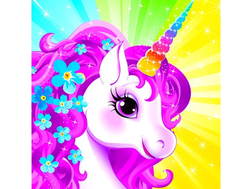 Jogo Unicorn Dress Up like Princess