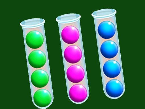 Jogo Sort Bubbles Puzzle