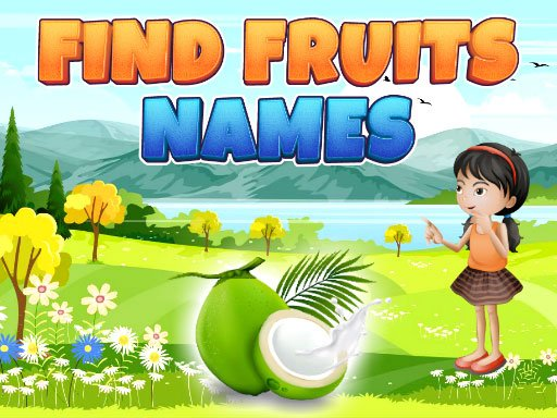 Jogo Find Fruits Names