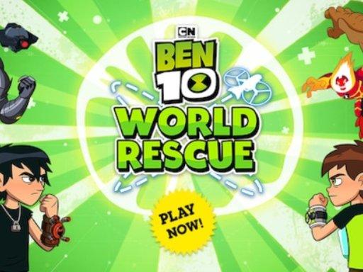 Jogo Ben 10 World Rescue