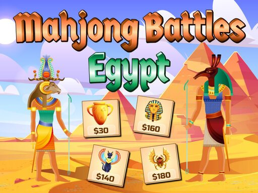 Jogo Mahjong Battles Egypt