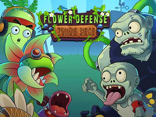 Jogo Flower Defense – Zombie Siege