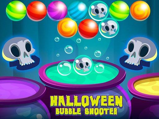 Jogo Halloween Bubble Shooter