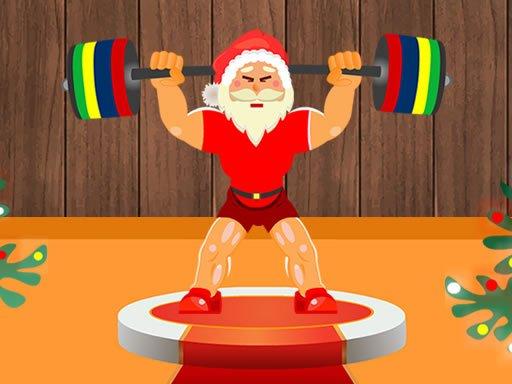 Jogo Santa Weightlifter