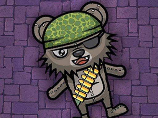 Jogo Zombie Bears Night Shooting